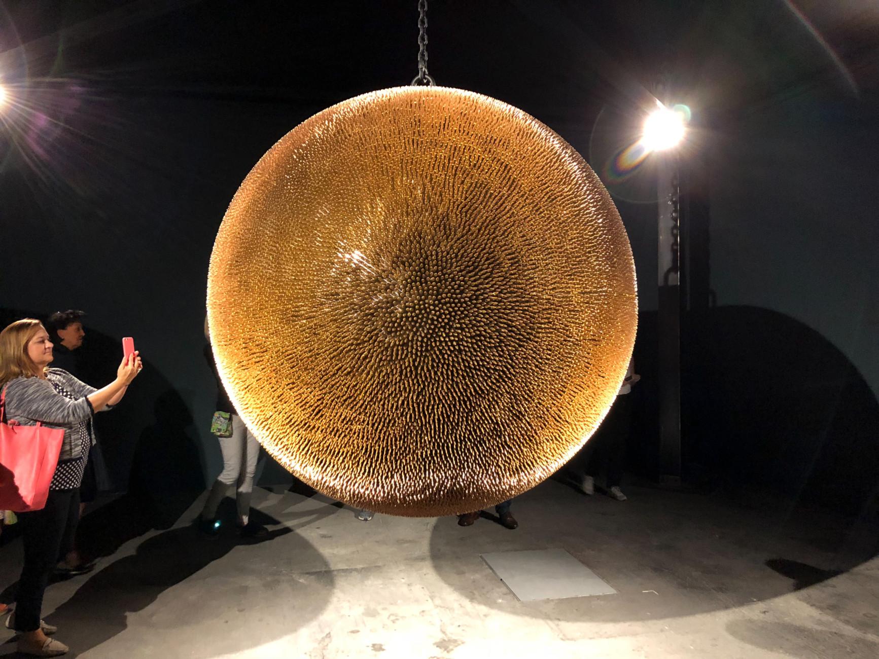 Robert Longo Death Star Ii 2017 2018 Art Basel 2018 Stylepark