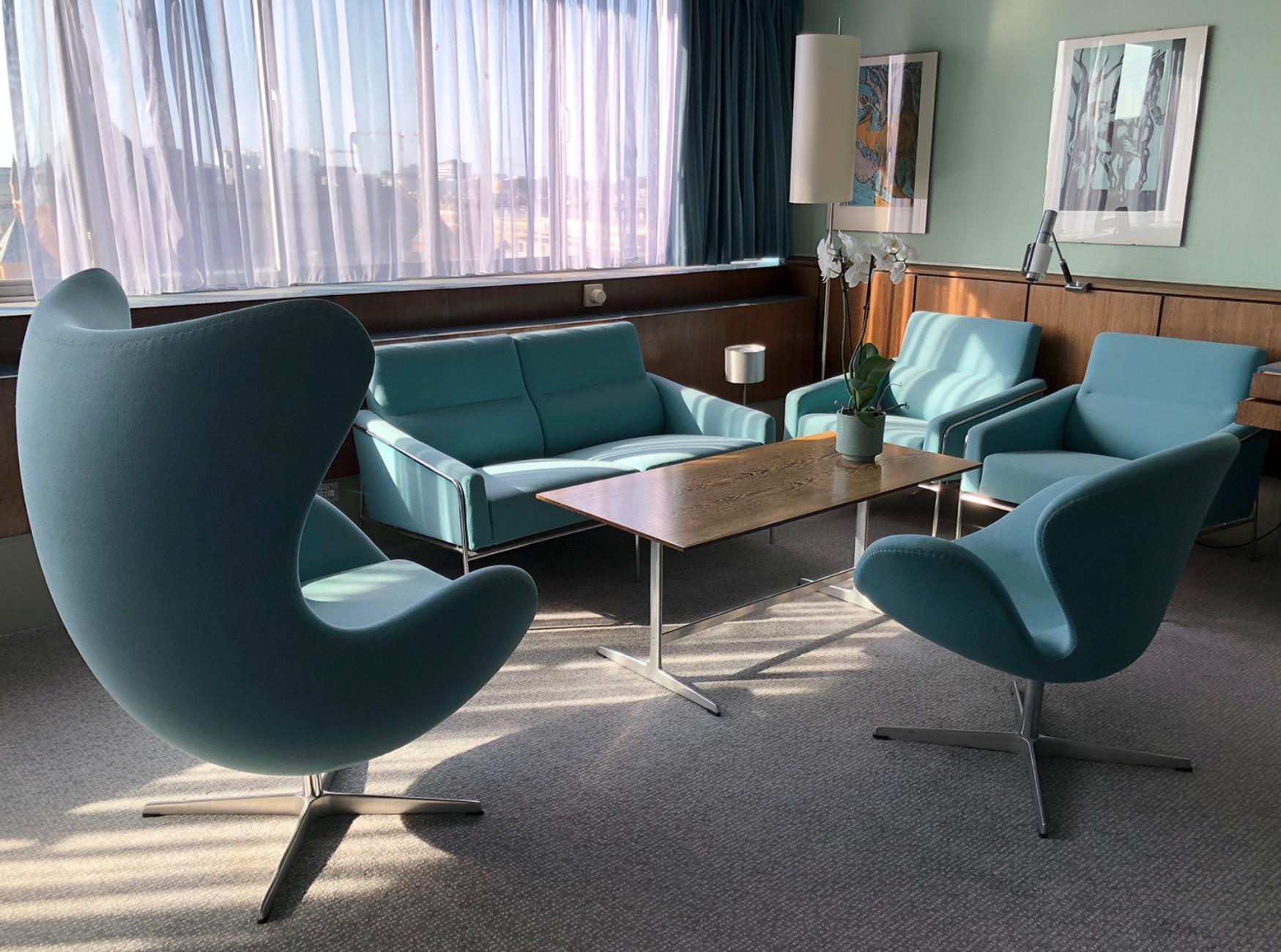 Arne Jacobsen Suite 606 im Royal Copenhagen/ Radisson Collection Hotel