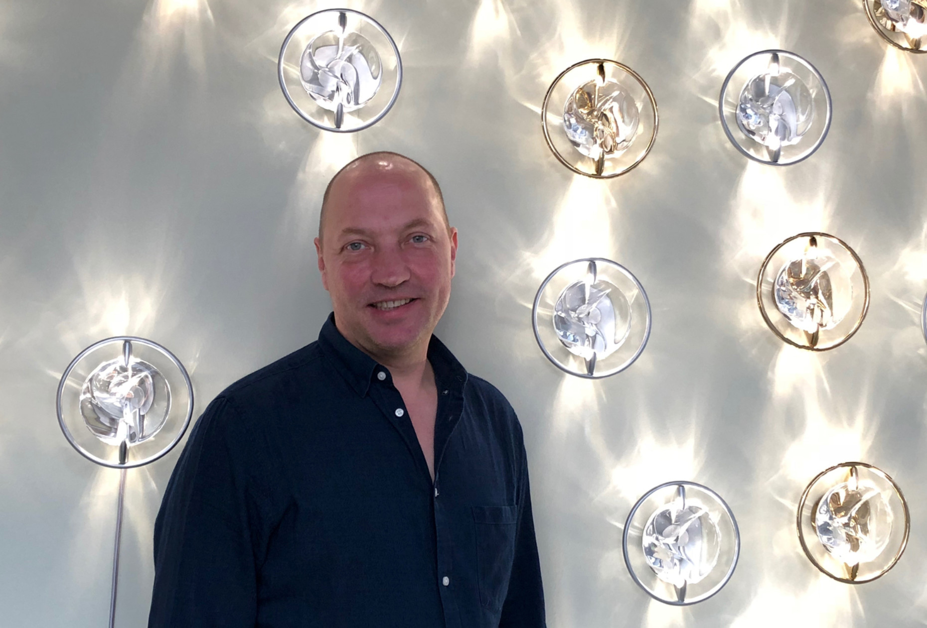 "Tord Boontje with ""Luminous Reflections"" at Swarovski Palazzo"