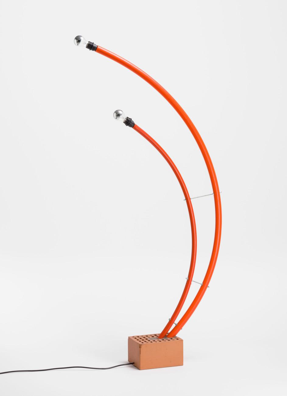 Susi and Ueli Berger: Rohbauhauslampe (1988), Museum für Gestaltung Zürich, Designsammlung