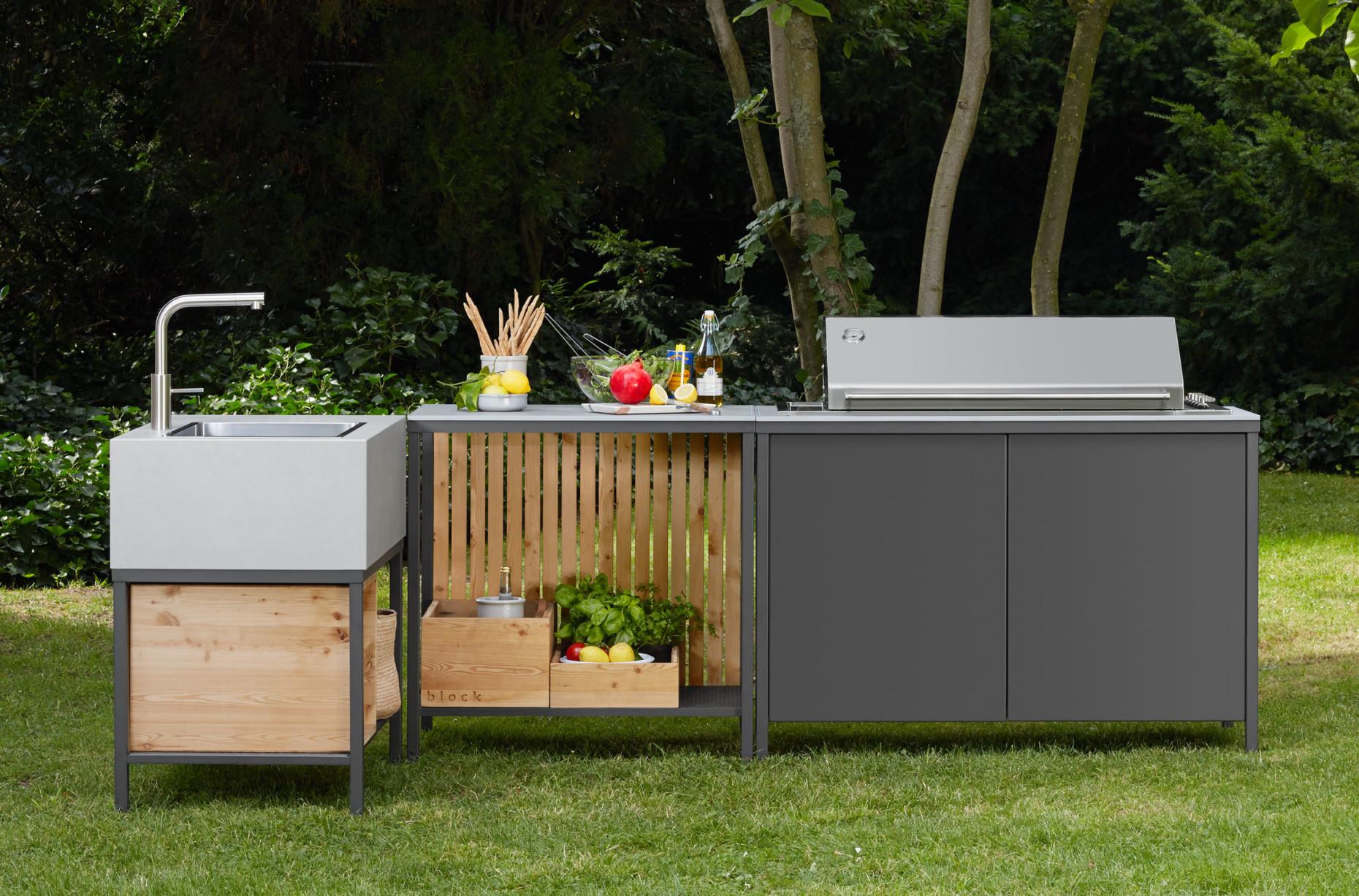 Außenküche Mit Spüle : Bauholz außenküche mit grill spüle arbeitstisch etsy