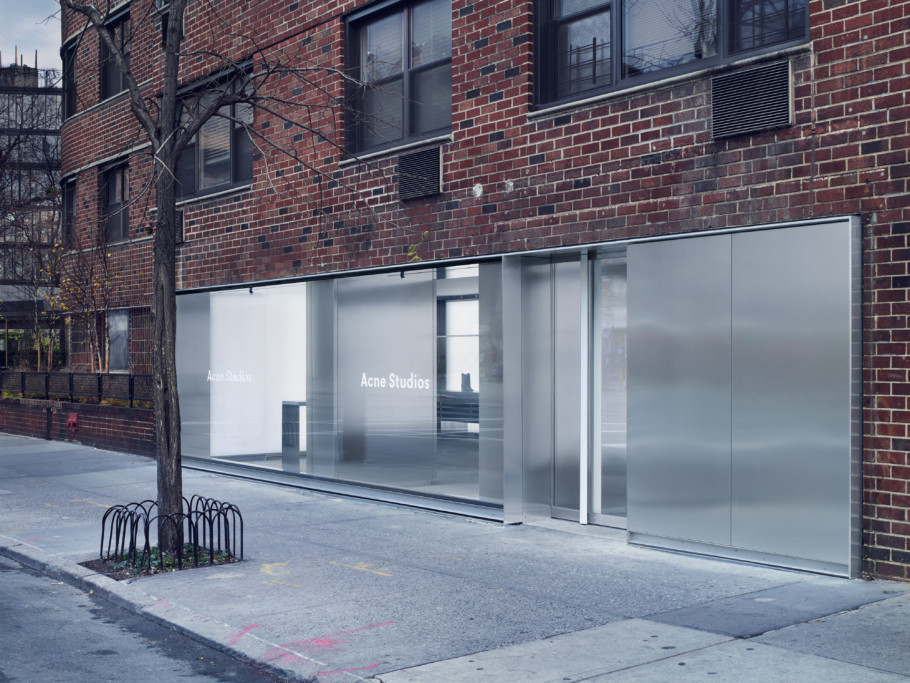 Acne Studios, Store, New York City, Horatio Street, Stylepark_1 jpg