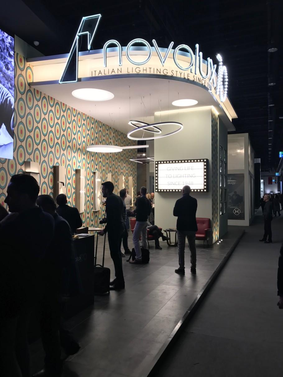 Light + Building 2018, Novalux Stylepark