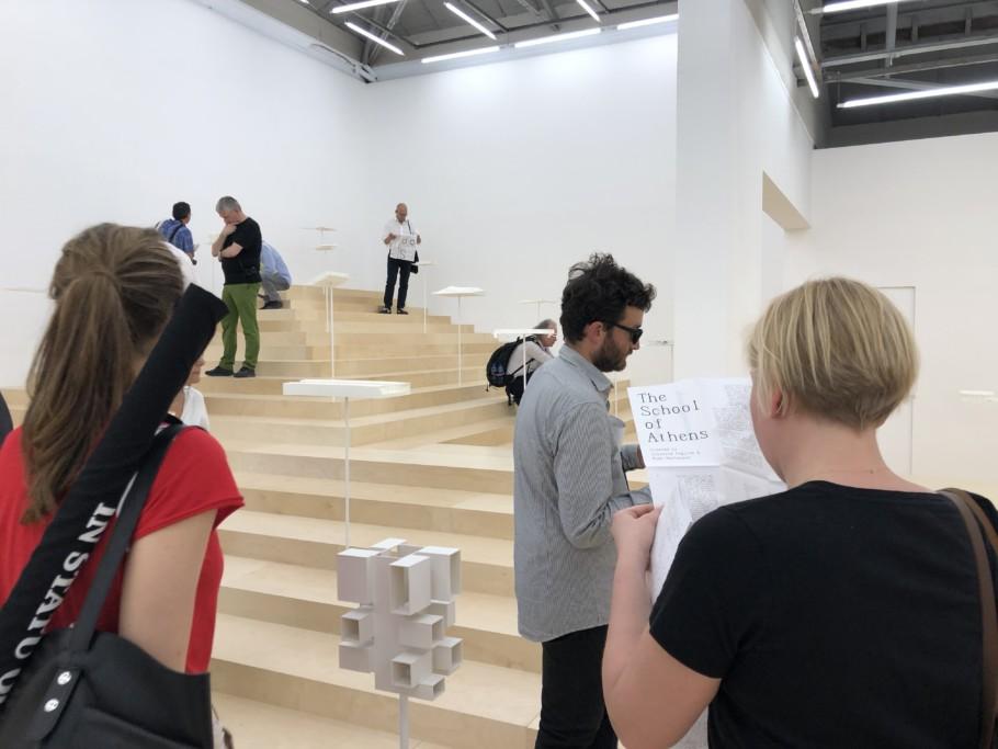 Biennale 2018 Greek Pavilion School of Athens Stylepark