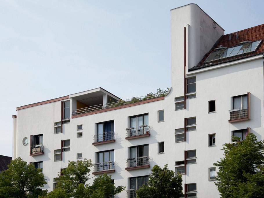 Apartmenthaus am Kaiserdamm, Berlin-Charlottenburg (1928-1929)