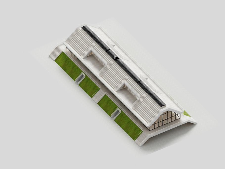 Clubhaus Varkenoord, Rotterdam, NL Architects, Stylepark