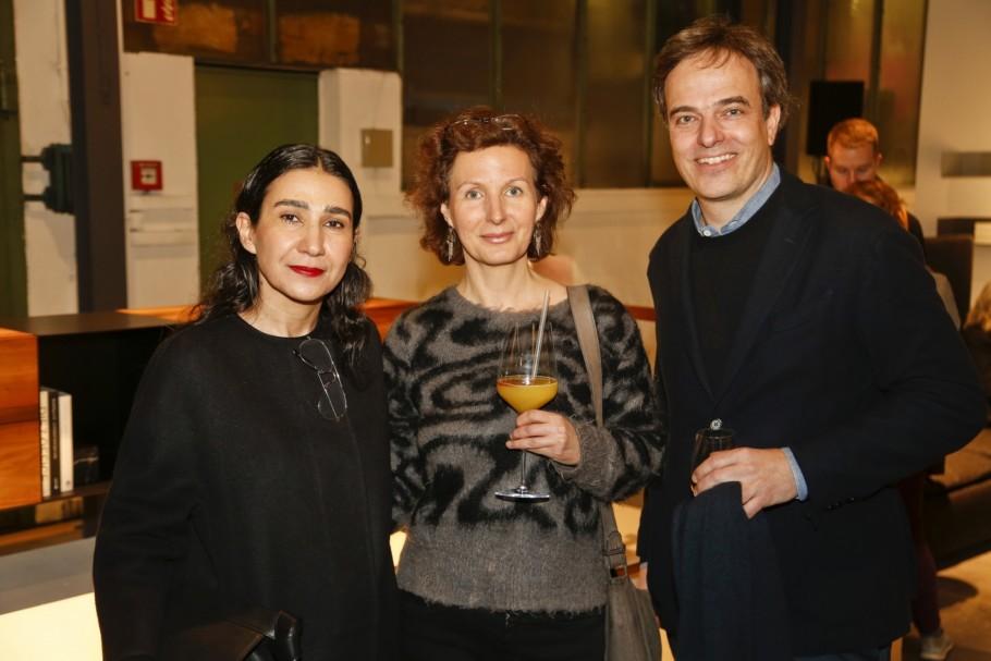 Light + Building 2018, Vibia Event, e15, Stefan Diez, Stylepark, Farah Ebrahimi (e15), Birgit Ochs (FAZ), Philipp Mainzer (e15)