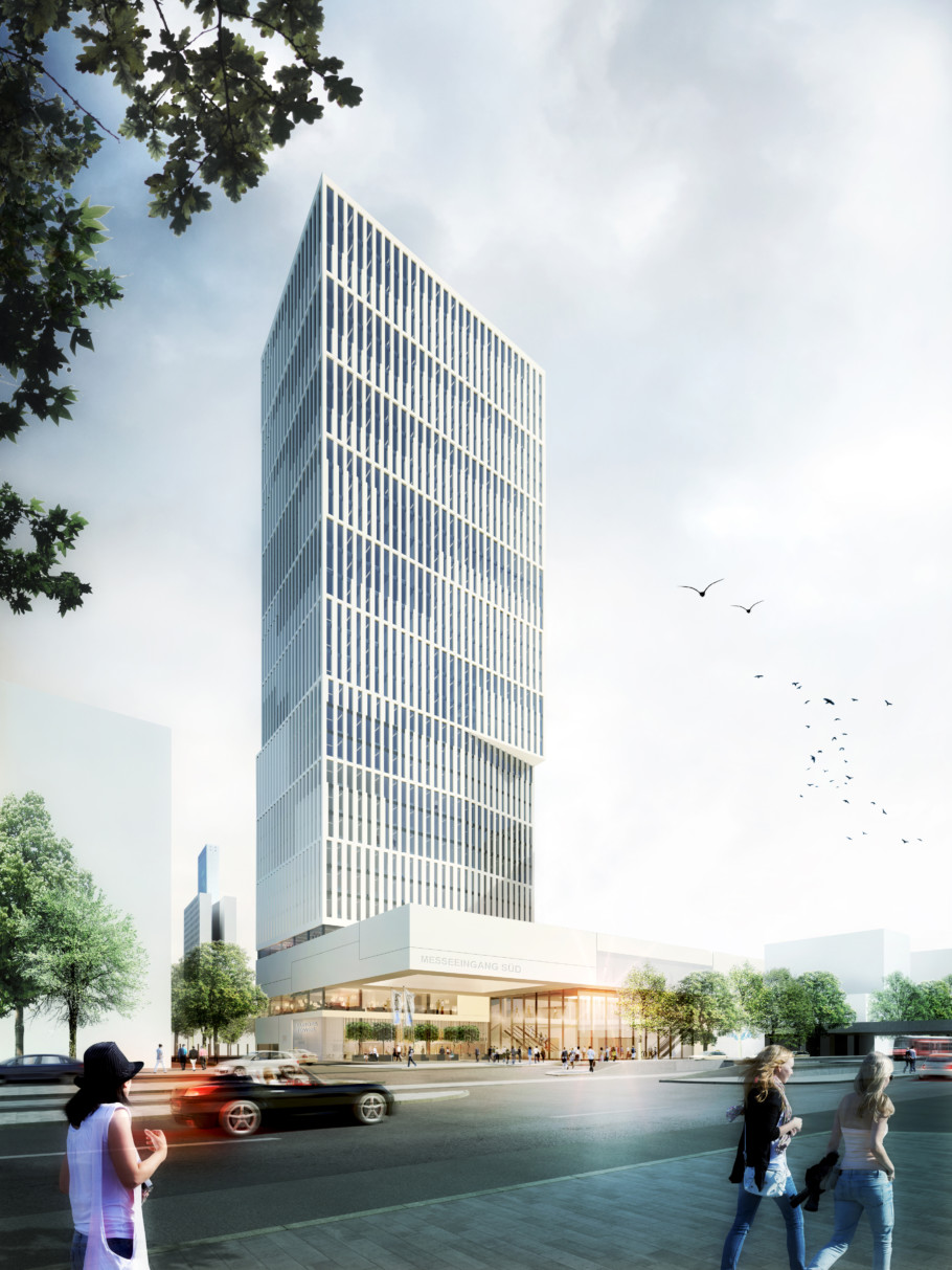 New skyscraper projects in frankfurt stylepark - Moser architekten ...