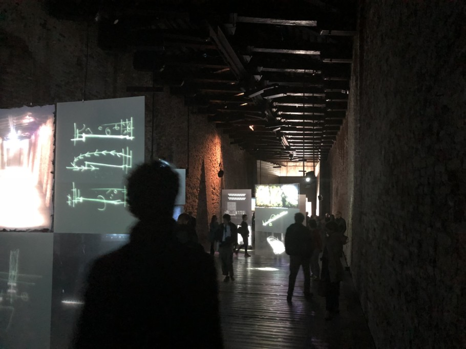 Renzo Piano Progetti d'acqua exhibition Fondazione Vedova Venice 2018