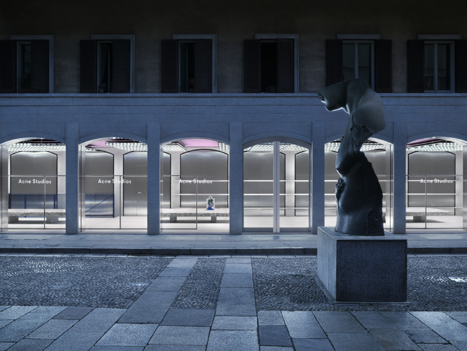 Acne Studios, Store, Milan, Stylepark, 01