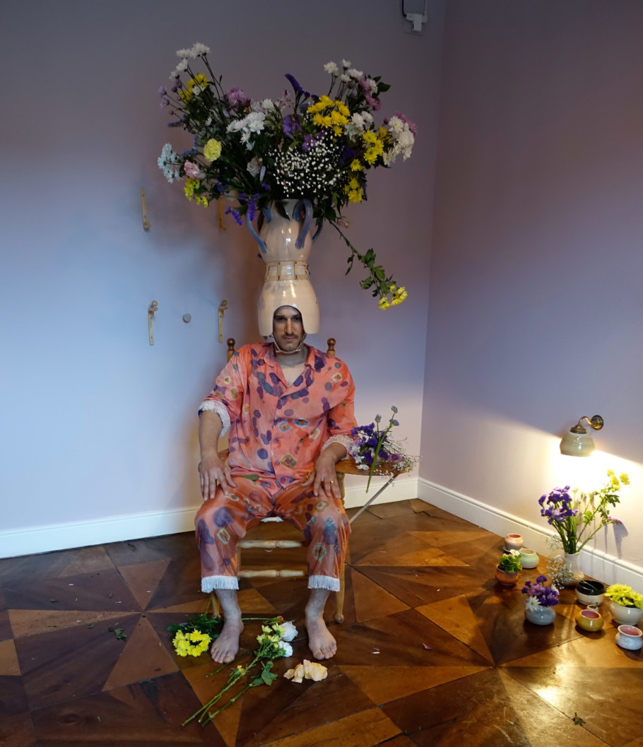 "The Grand Duchy is exhibiting for the last time here: The performance ""Thank You So Much for the Flowers"" by Mike Bourscheid in the Luxembourg Pavilion close to Gallerie dell'Accademia."