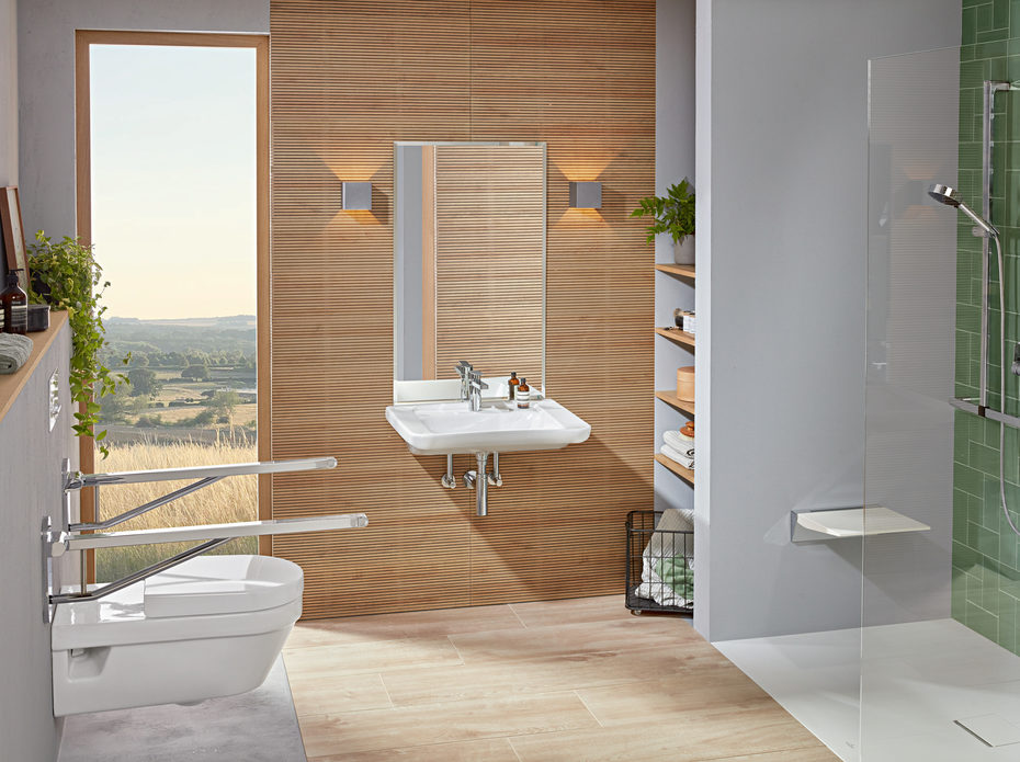 Image gallery Products for barrier-free bathrooms from Villeroy & Boch