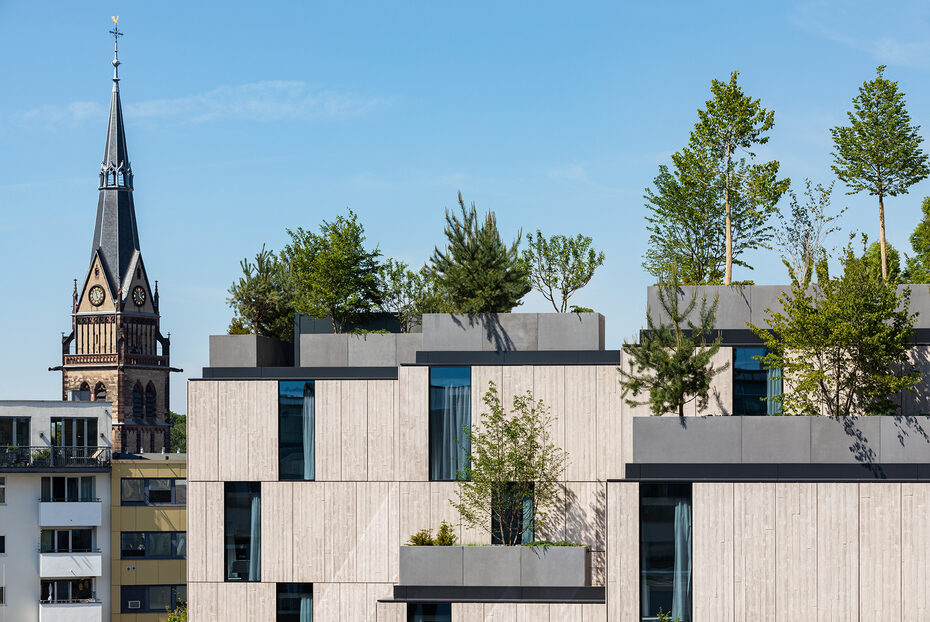 """Image gallery """"Carré Belge"""" by ingenhoven architects in Cologne"""