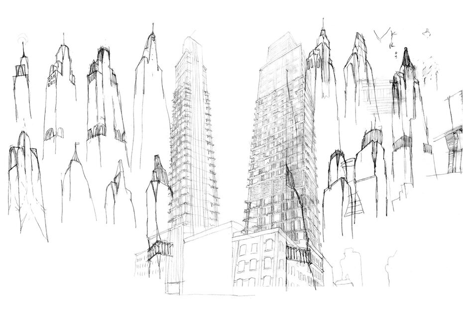 """Image gallery Residental tower """"180E88"""" in NYC"""