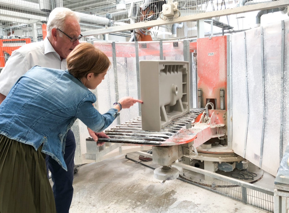 Factory visit to Villeroy & Boch