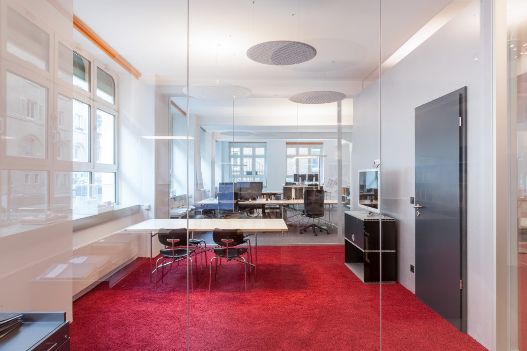 Nimbus - Architecture office in a former textile factory