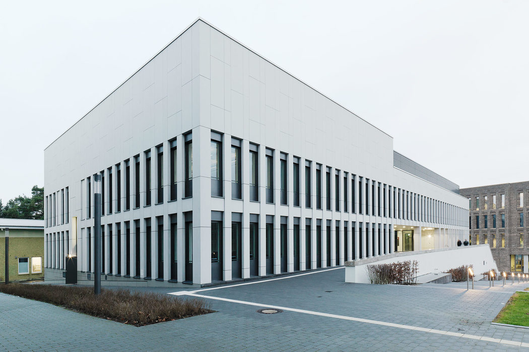 Image gallery University of Osnabrück, concrete panels from Rieder