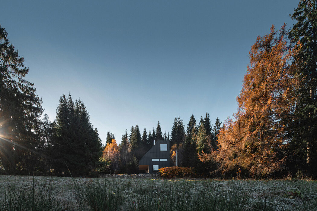 Image gallery weekend house Nové Hamry by New How Architects