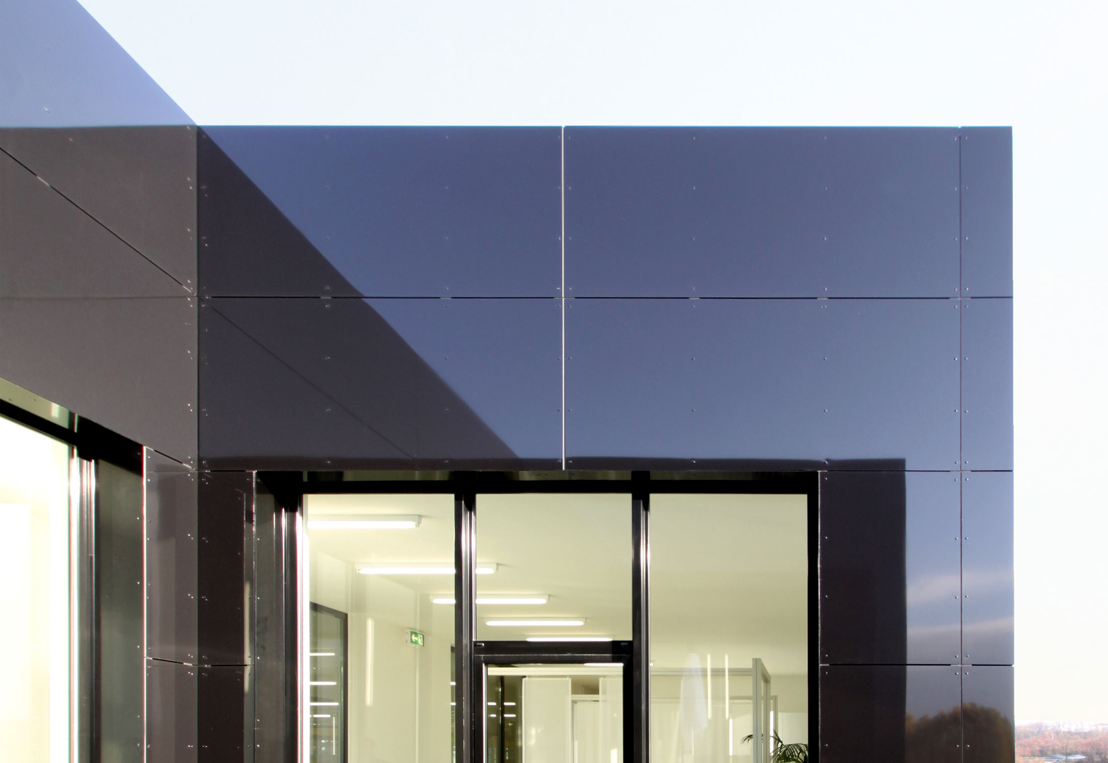 Alucobond 174 Black 80 Degree Of Gloss By 3a Composites