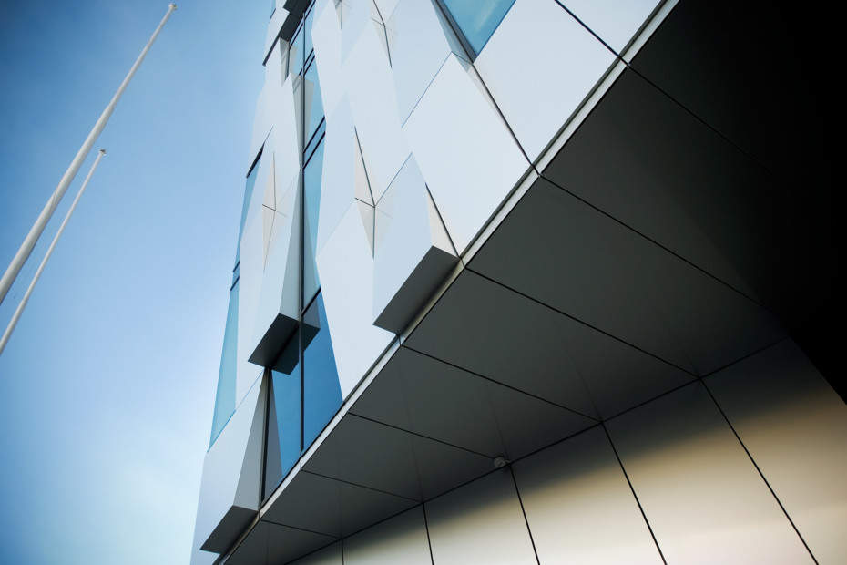 ALUCOBOND® finish, gloss grade, colour
