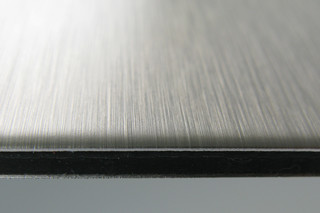 DIBOND® butlerfinish stainless steel  by  3A Composites