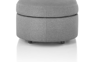Bevel Rounded Ottoman  by  Herman Miller