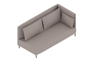 ColourForm 2-Seat Sofa Left Arm - UK  by  Herman Miller