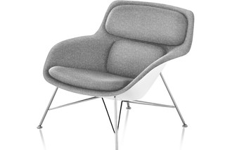 remove Striad Low-Back Lounge Chair Wire Base - UK  by  Herman Miller