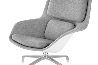 remove Striad Mid-Back Lounge Chair 4-Star Base - UK  by  Herman Miller