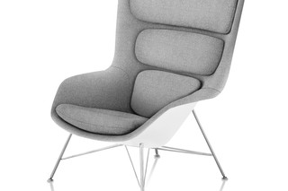 remove striad High-Back Lounge Chair Wire Base - UK  by  Herman Miller