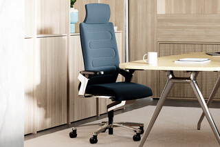 ON Swivel chair 175/71 with head rest  by  Wilkhahn
