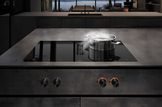 Flex induction cooktops with integrated ventilation  by  Gaggenau