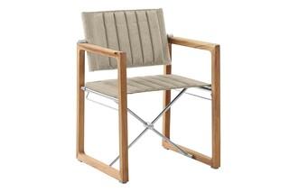 Benton Armlehnstuhl klappbar (Steingrau)  von  Garpa