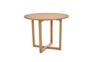 Benton table round  by  Garpa