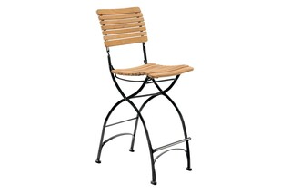 Fontenay bar stool teak  by  Garpa