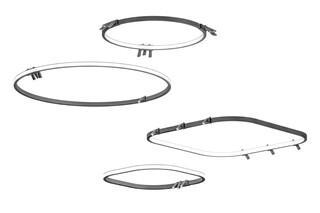 40088 spotlight loop  by  Martinelli Luce