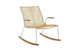 Pan rocking chair white  by  Garpa