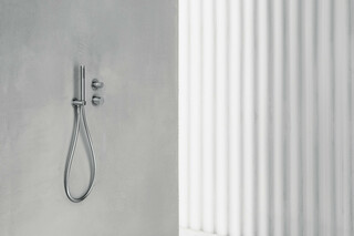 AA/27 Built-in shower mixer - Shower arm - Showerhead  - Shower set  by  Fantini