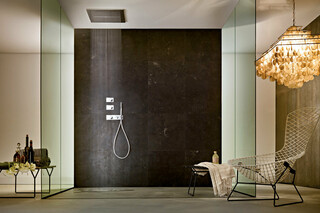3/4'' built-in thermostatic shower mixer, Multi-function showerhead  by  Fantini