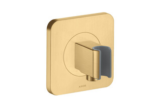AXOR Citterio E Porter unit 120/120 softcube Brushed Gold Optic  by  AXOR