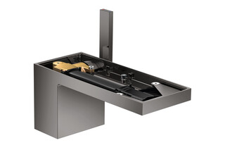 AXOR MyEdition Single lever basin mixer 70 with push-open waste set without plate Polished Black Chrome  by  AXOR