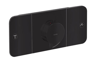 AXOR One Thermostatic module for concealed installation for 2 functions Matt Black  by  AXOR