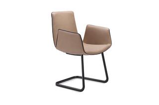 Amelie armchair freischwinger  by  Freifrau