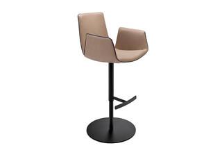 Amelie bar armchair with central leg  by  Freifrau