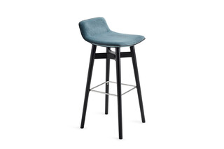 Amelie barstool low with wooden frame  by  Freifrau