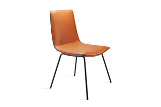 Amelie Chair with steel frame  by  Freifrau