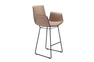 Amelie bar armchair with wire frame  by  Freifrau