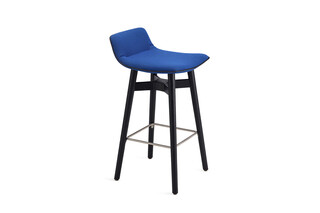 Amelie counter stool low with wooden frame  by  Freifrau