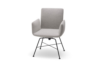 Jalis chair with swivel function  by  COR