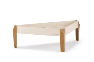 BRIXX side table triangular  by  DEDON
